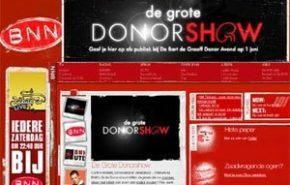The Big Donorshow: un polémico programa holandés sobre donantes