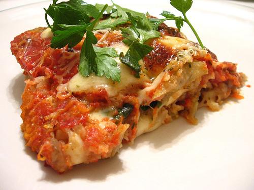 Lasagna de berenjenas por paolita_iris.