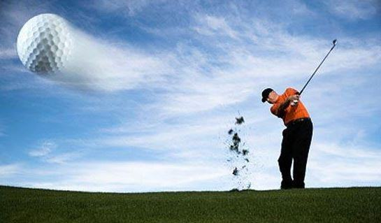 Jugar al golf puede dañar el oído