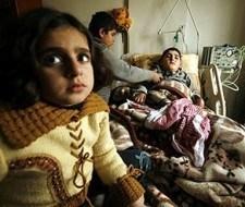 10 por ciento de palestinos sufre de raquitismo