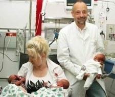 Nacen trillizas idénticas