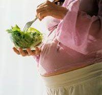¿Embarazada? Cuida tu dieta por la salud de tu bebé
