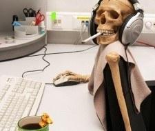 Personas adictas al trabajo