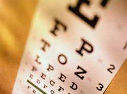 Cómo determinar la agudeza visual