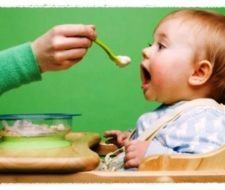 La alimentación en niños de 1 a 5 años