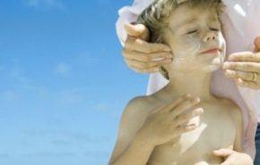 Niños expuestos al sol ¡Alergias!