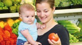 La alimentación de los bebes a partir de los seis meses