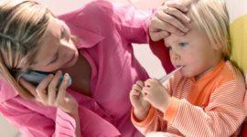 Cómo aliviar la fiebre en los niños