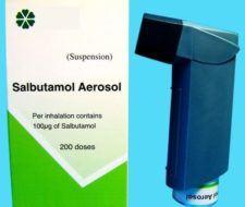 Trastornos respiratorios   Salbutamol