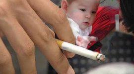 42% de niños son expuestos al humo de tabaco en su hogar