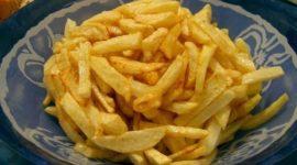 La comida salada varía según el país