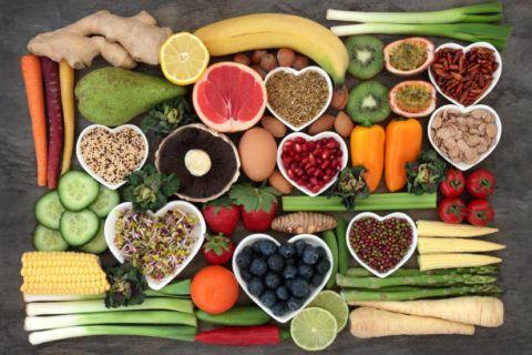 Cantidad recomendada vitaminas minerales