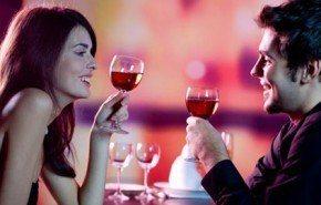 Preparar una cena romántica saludable