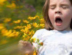 Alergias comunes en los niños