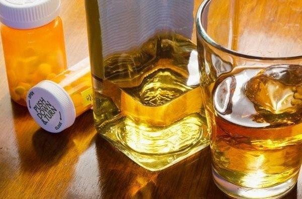 Lexatin y alcohol efectos