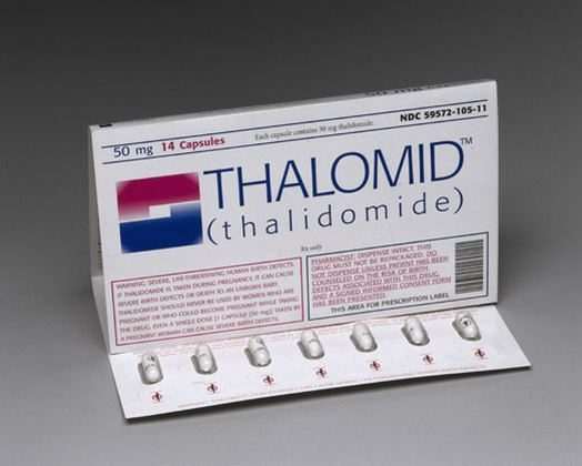 Talidomida efectos