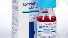 Prospecto y dosis del Apiretal