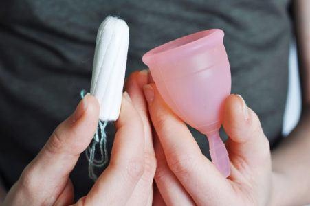 Copa menstrual colocacion