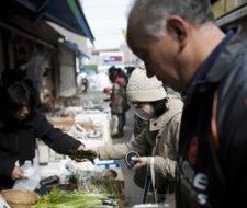 Radiación en alimentos japoneses